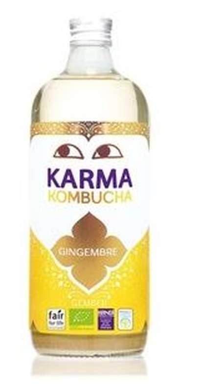 Kombucha gingembre BIO, Karma (1 L)
