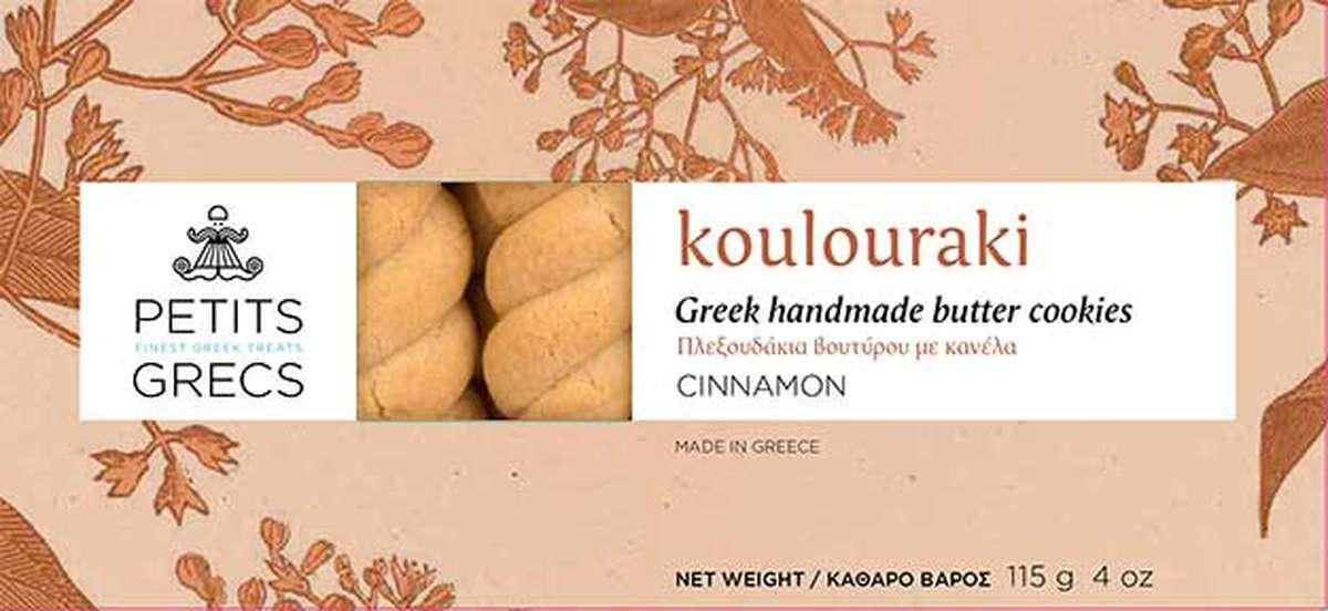 Koulouraki à la cannelle, Petits Grecs (115 g)