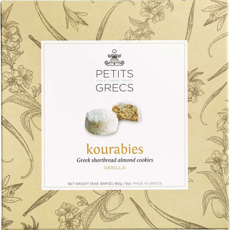 Kourabies à la vanille, Petits Grecs (180 g)