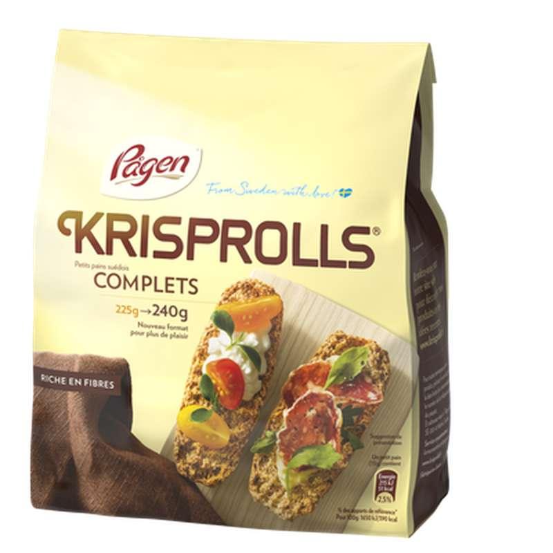 Krisprolls complets (240 g)