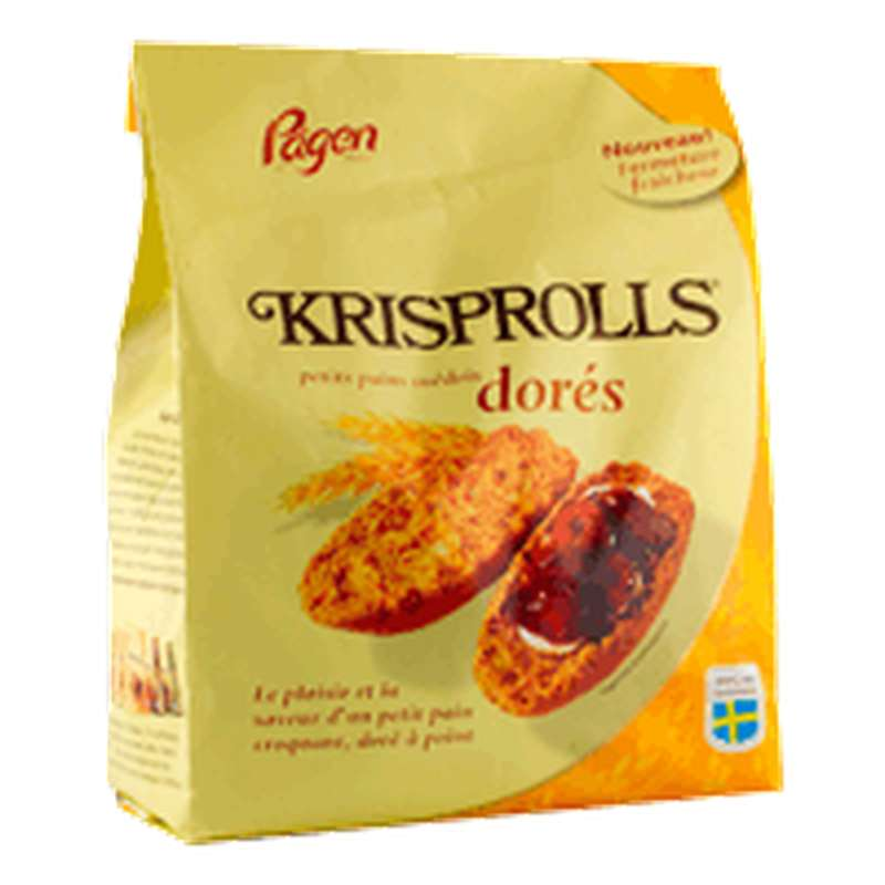 Krisprolls blonds dorés (240 g)