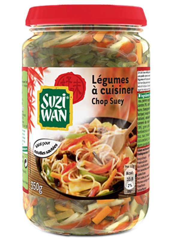Mélange de légumes à cuisiner Chop Suey, Suzi Wan (350 g)