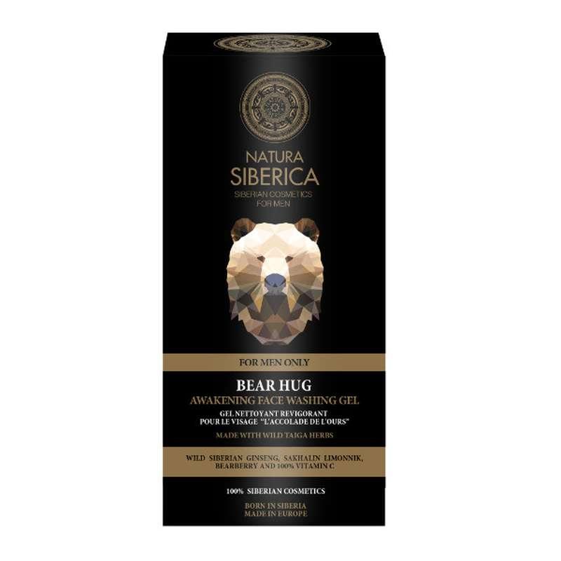 L'Accolade de l'Ours Gel nettoyant revigorant visage, Natura Siberica (150 ml)