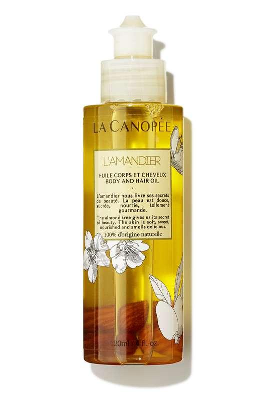 L'Amandier Huile corps et cheveux, La Canopée (120 ml)