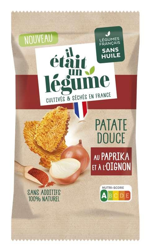 L'apéritif Chips de Patate Douce au Paprika et à l'Oignon, Il Etait Un Légume (50 g)