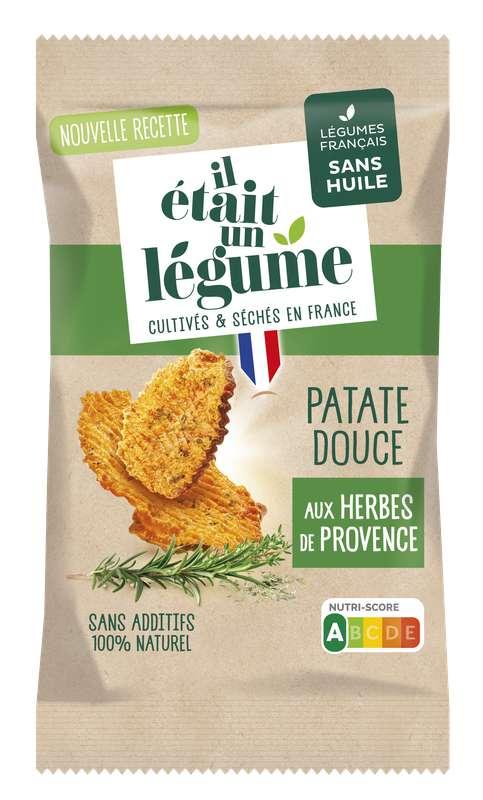 L'apéritif Chips de Patate Douce et Herbes de Provence, Il Etait Un Légume (50 g)