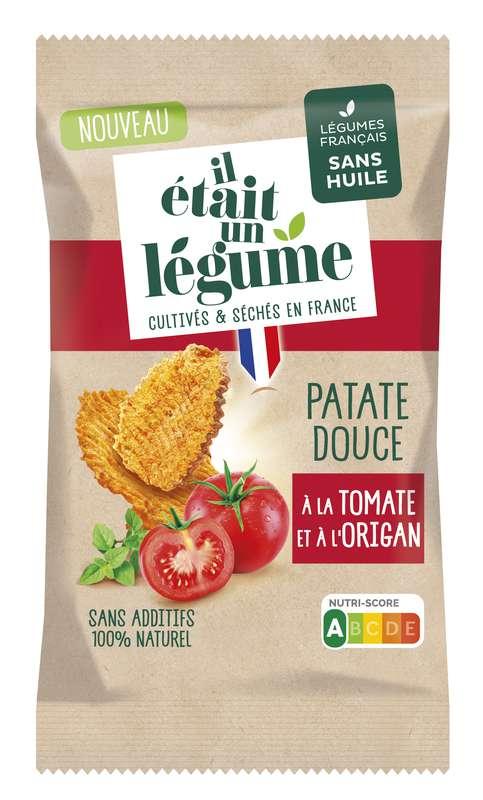 L'apéritif Chips de Patate Douce, Tomates et Origan, Il Etait Un Légume (50 g)