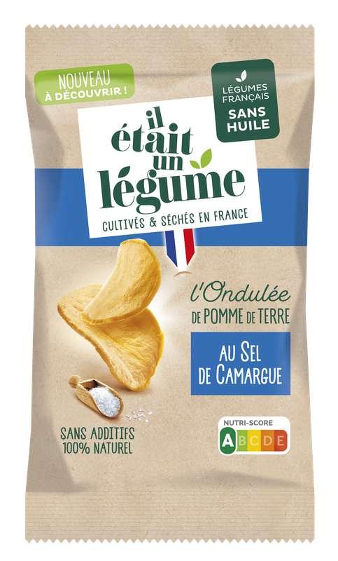 L'apéritif l'Ondulée de Pomme de Terre au sel de Camargue, Il Etait Un Légume (50 g)