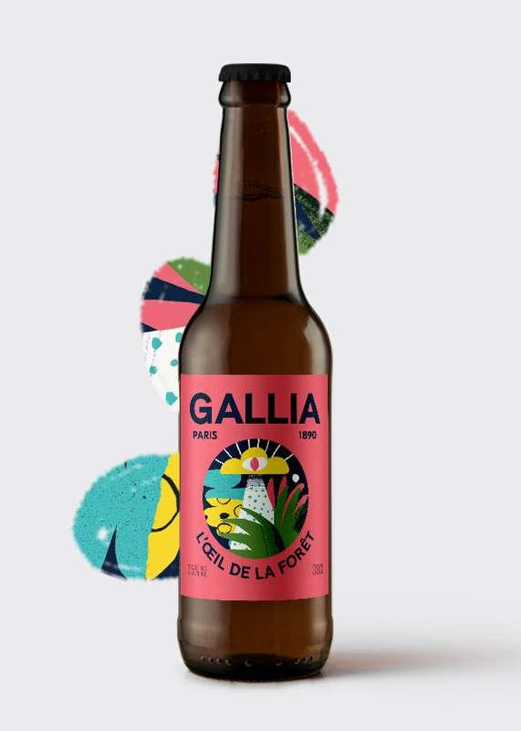 L'Oeil de la Forêt Bière acide 7,5%, Gallia (33 cl)