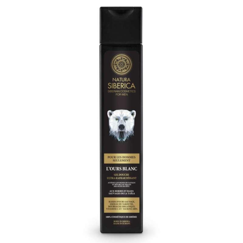 L'Ours Blanc Gel douche ultra rafraichissant, Natura Siberica (250ml)