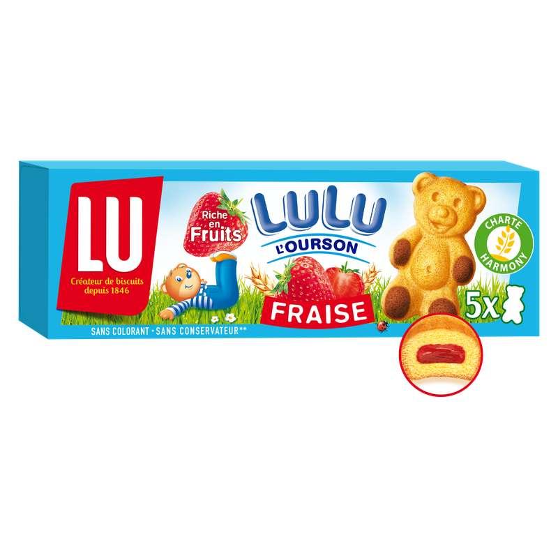 Lulu l'ourson à la fraise, Lu (150 g)
