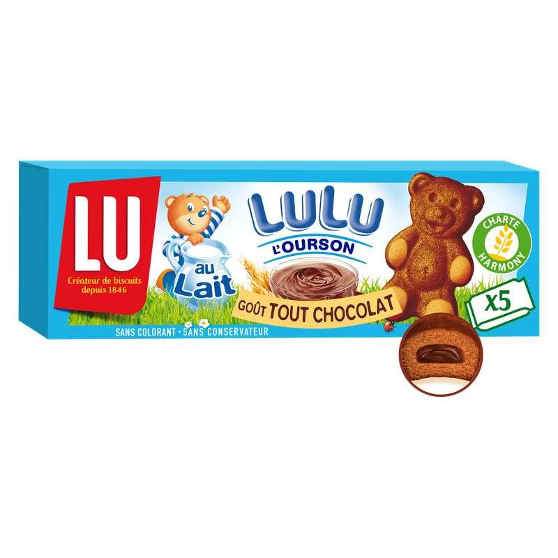 Lulu L'ourson tout chocolat, Lu (150 g)