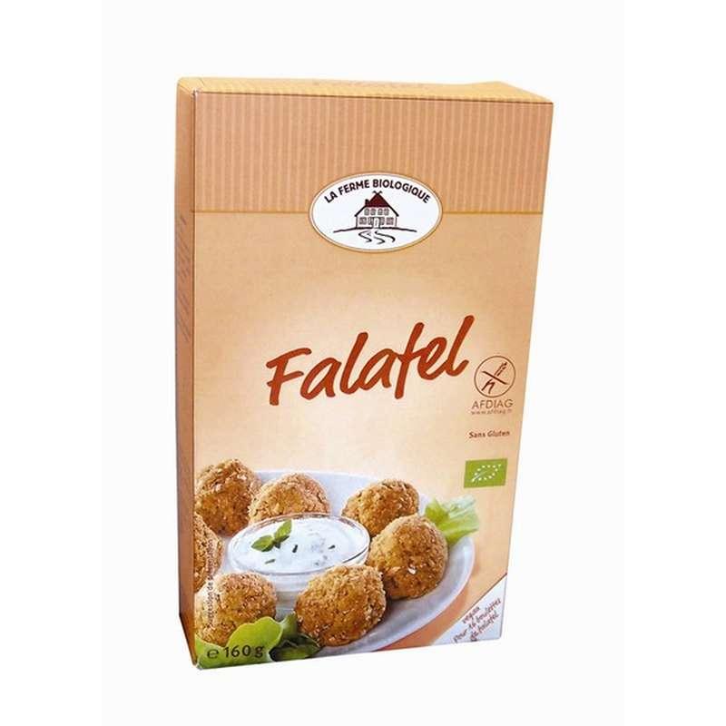 Préparation pour falafels BIO, La Ferme Biologique (160 g)