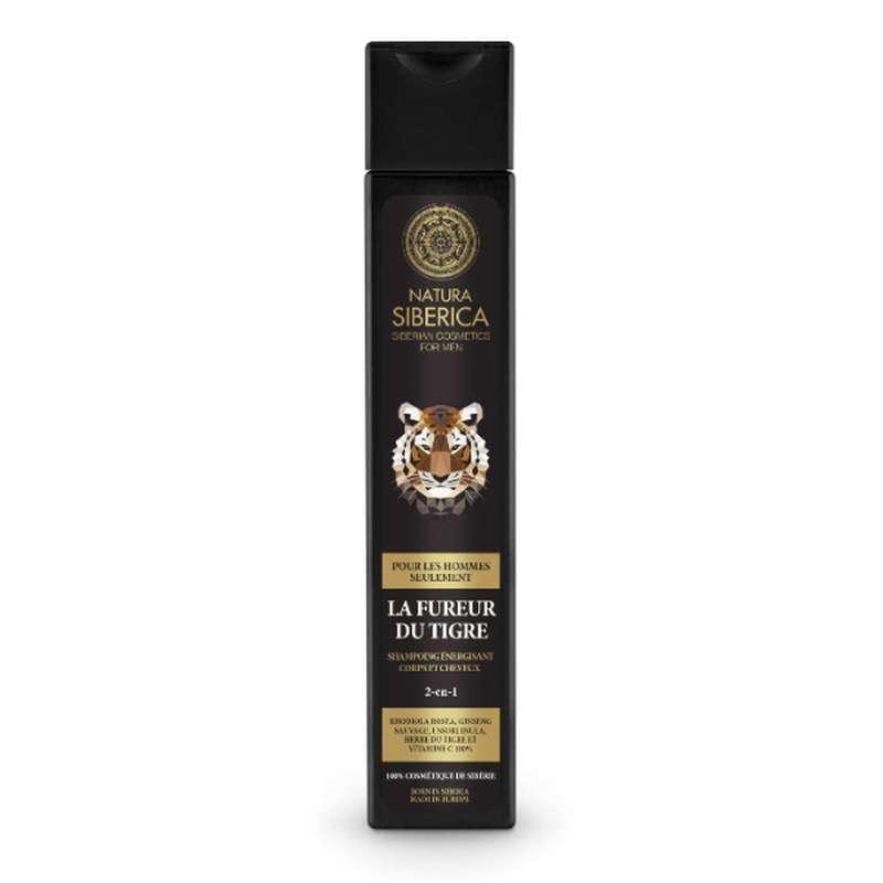 La Fureur du Tigre Shampoing énergisant 2 en 1, Natura Siberica (250 ml)