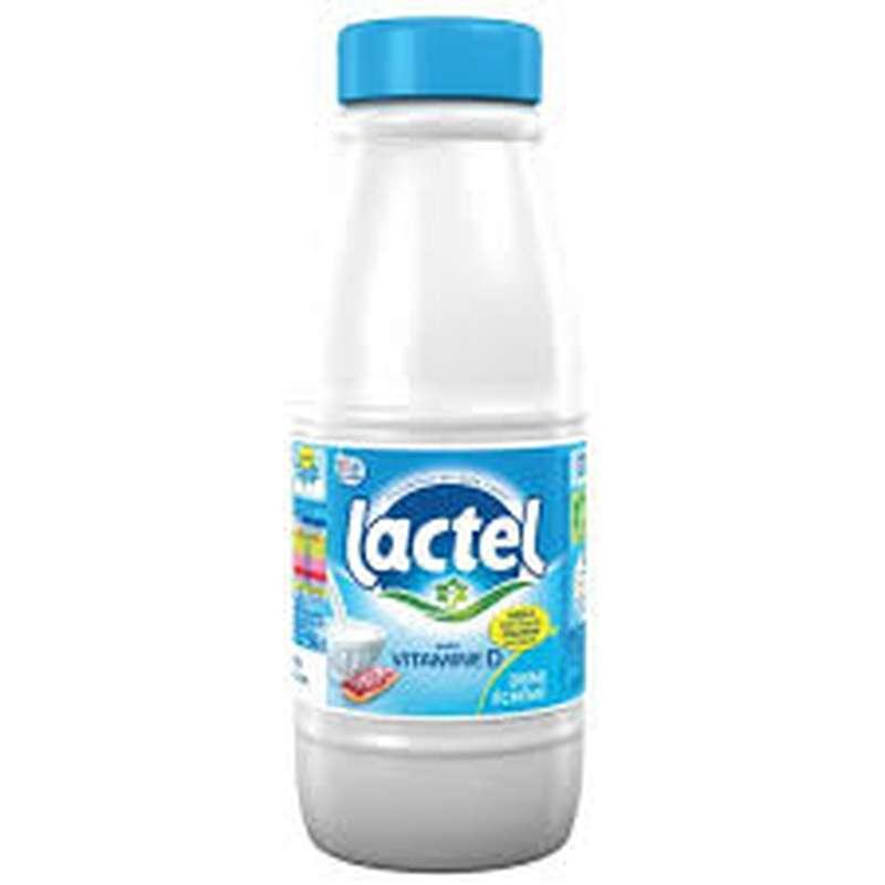 Lait demi-écrémé, Lactel (50 cl)