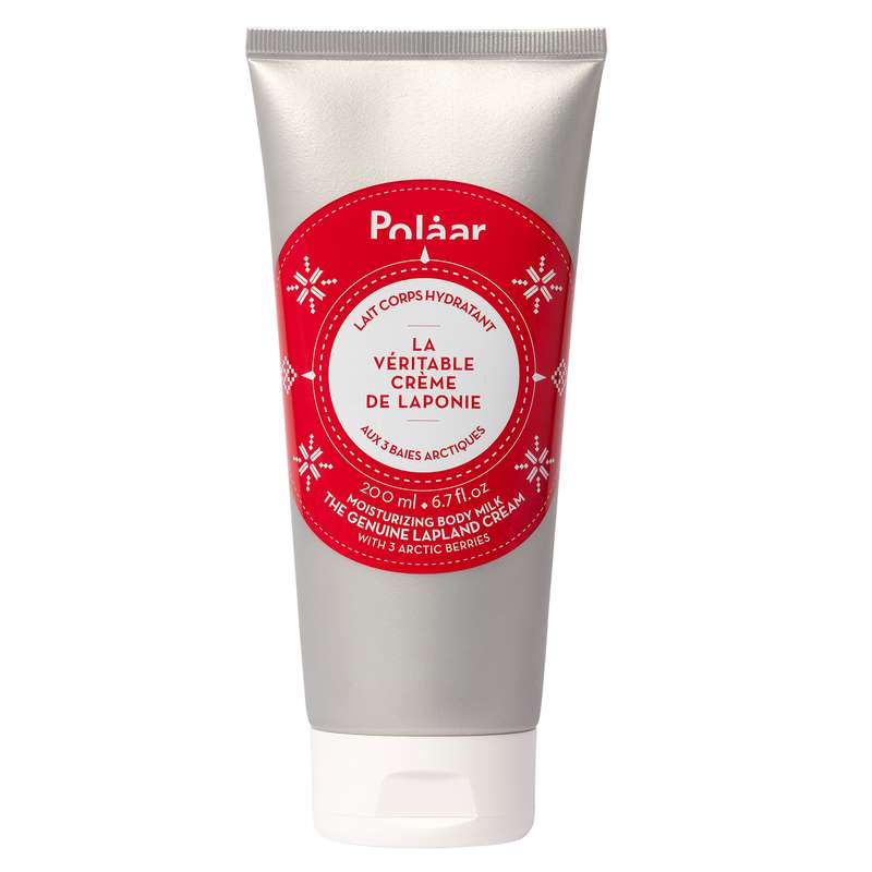 Lait corps hydratant La Véritable Crème de Laponie aux 3 baies arctiques, Polaar (200 ml)