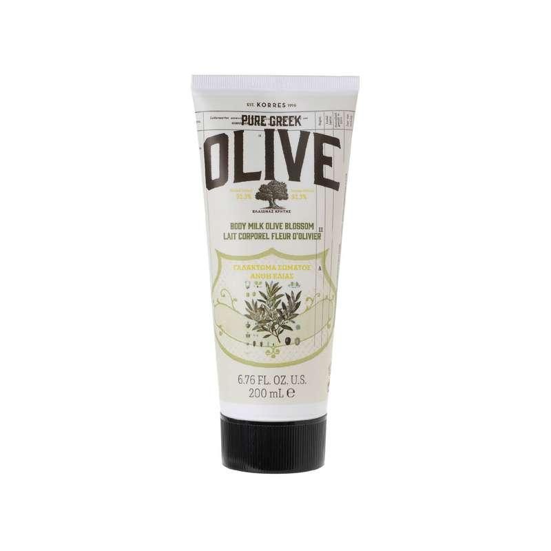 Lait corps Olive & Fleur d'Olivier, Korres (200 ml)