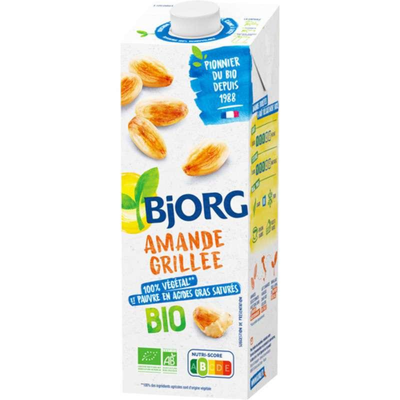 Lait d'amande grillée BIO, Bjorg (1 L)