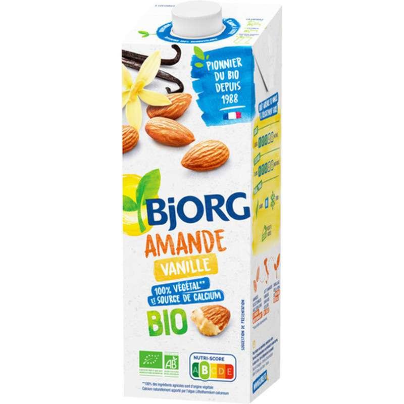 Lait d'amande vanille BIO, Bjorg (1 L)