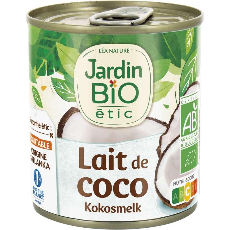 Lait de coco BIO, Jardin Bio étic (225 ml)