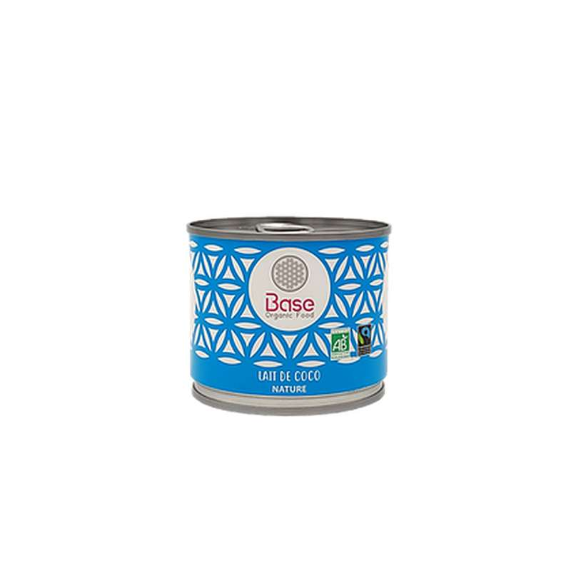 Lait de coco onctueux 17% mg BIO, Base Organic Food (200 ml)