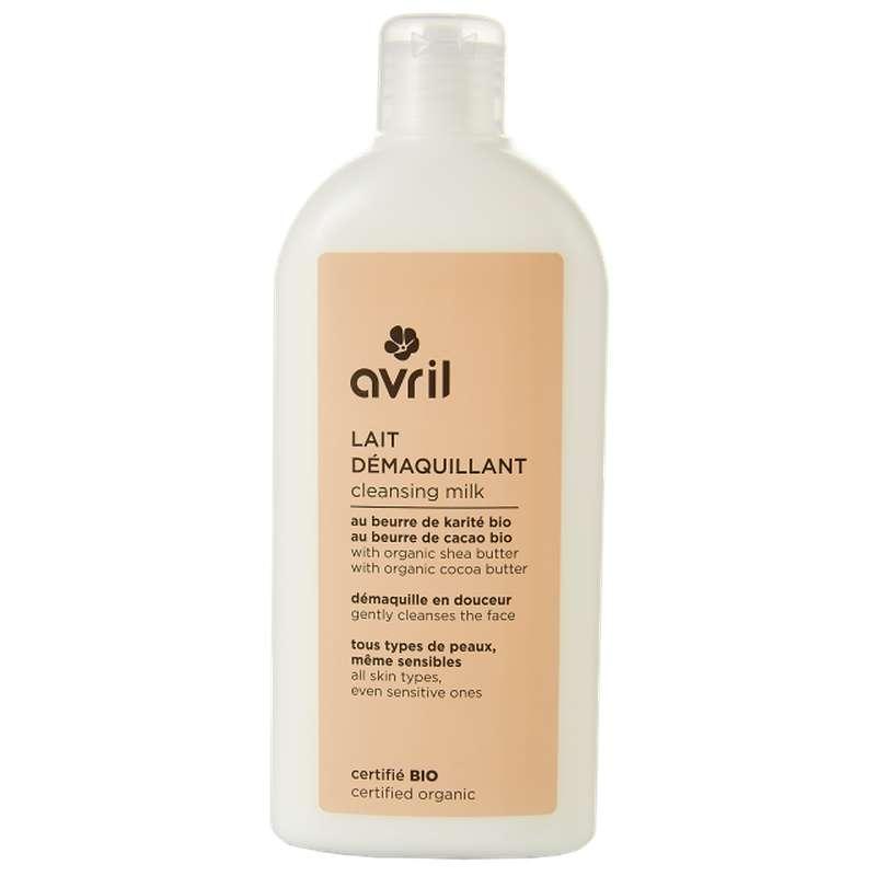 Lait démaquillant certifié BIO, Avril (250 ml)