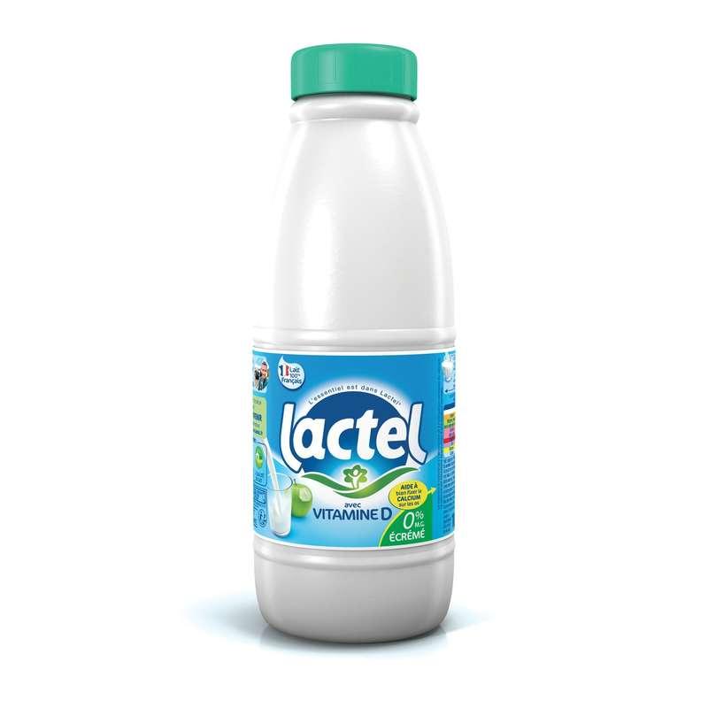 Lait écrémé BIO, Lactel (1 L)