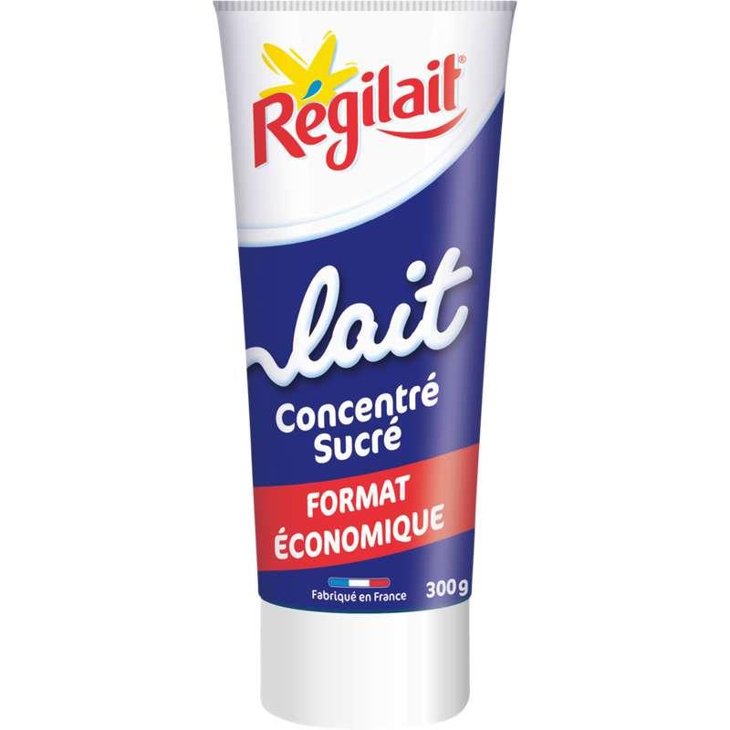 Lait entier concentré sucré, Régilait (300 g)