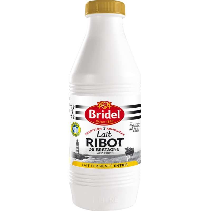 Lait Ribot (fermenté) entier, Bridel (1 L)