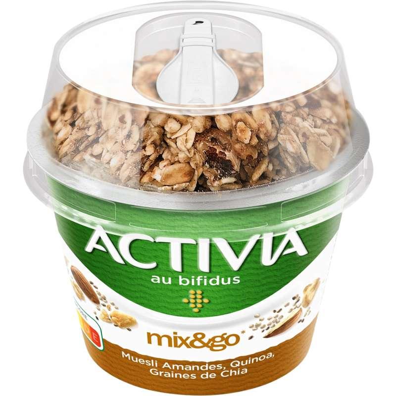 Yaourt müesli amandes, quinoa et chia, Activia (170 g)