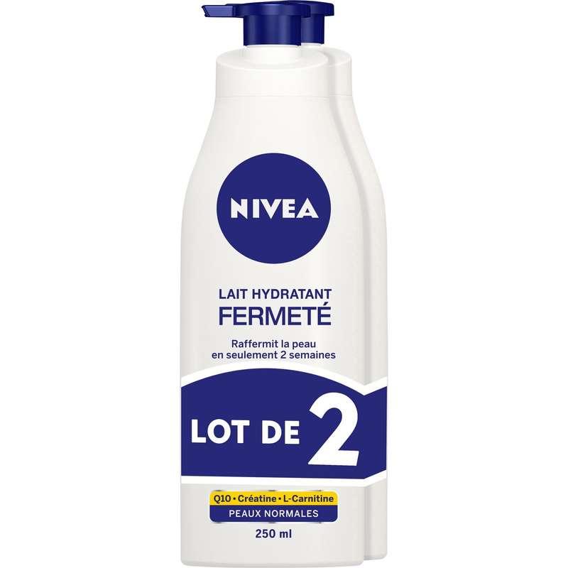 Lait hydratant fermeté pour le corps Q10+, Nivea LOT DE 2 (2 x 250 ml)