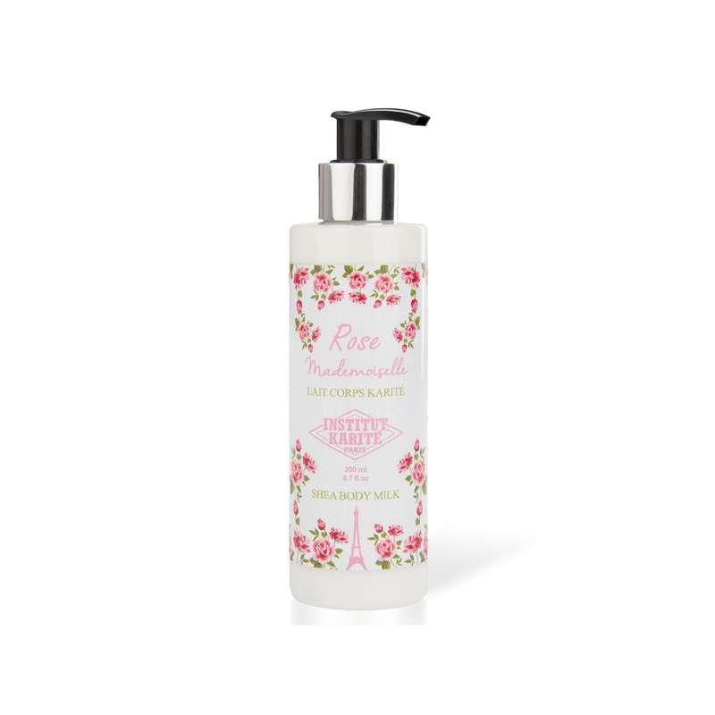 Lait pour le corps - Rose Mademoiselle, Institut Karité (200 ml)