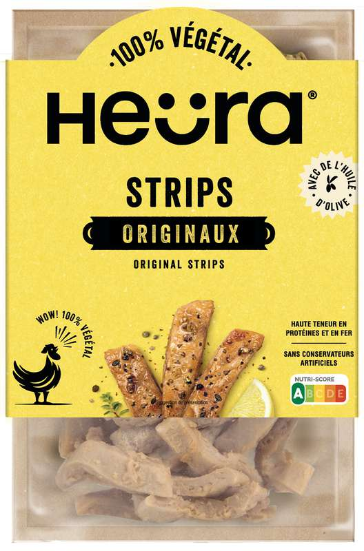 Lamelles de protéines végétales Original Strips, Heura (160 g)