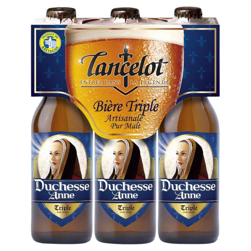 Pack de Lancelot triple Duchesse Anne, 7,5° (3 x 33 cl)