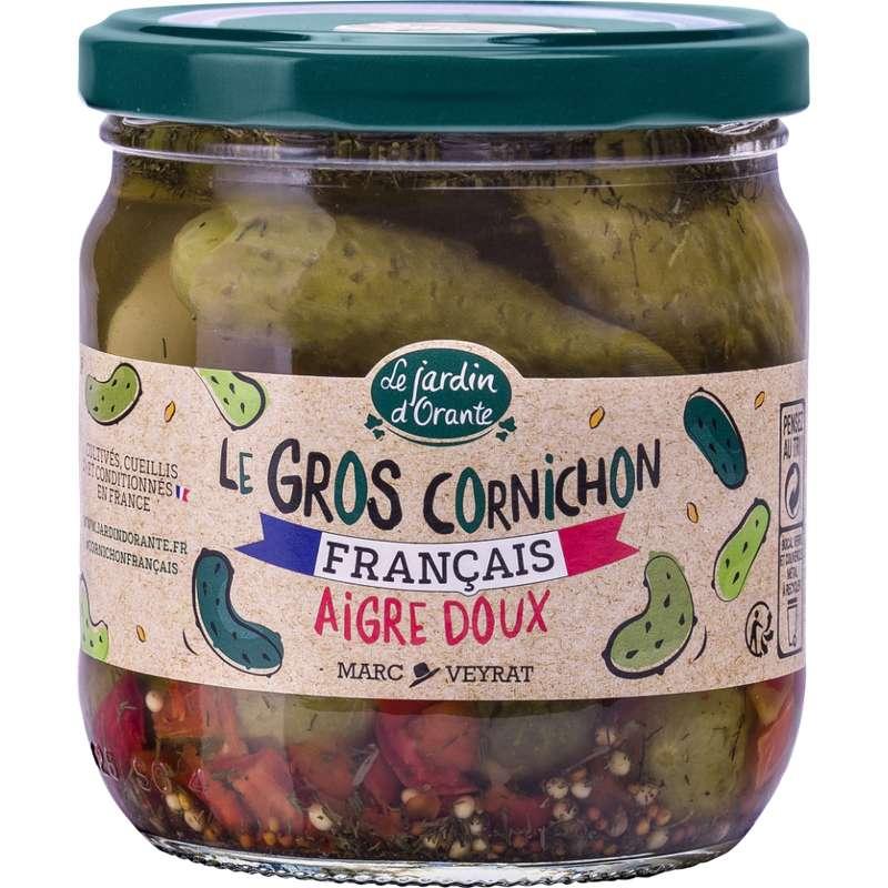 Le gros cornichon français aigre-doux, Le jardin d'Orante (210 g)