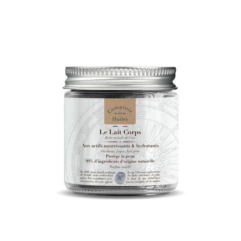 Le Lait Corps à l'huile de Coco BIO, Comptoir des Huiles (100 ml)