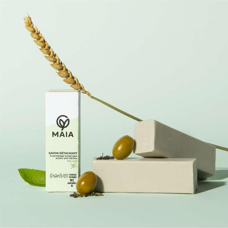 Le savon détachant au thé vert, Maia (100 g)