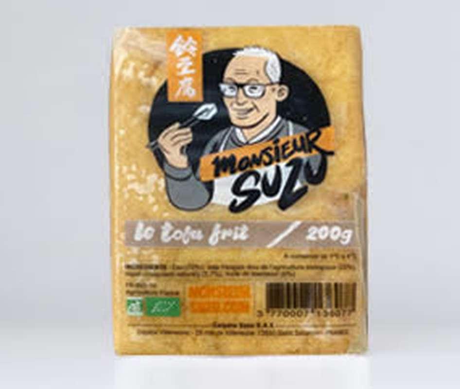 Le Tofu frit BIO, Monsieur Suzu (200g)