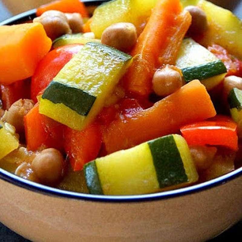Légumes et jus (pour 2 ou 3)