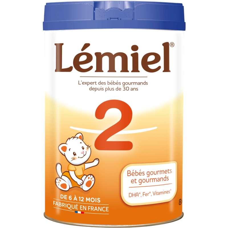 Lait en poudre 2ème âge - de 6 à 12 mois, Lemiel (800 g)