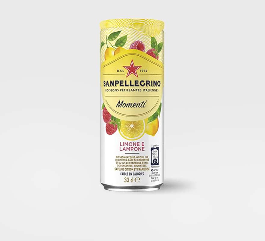 San Pellegrino Limone e Lampone (33 cl)