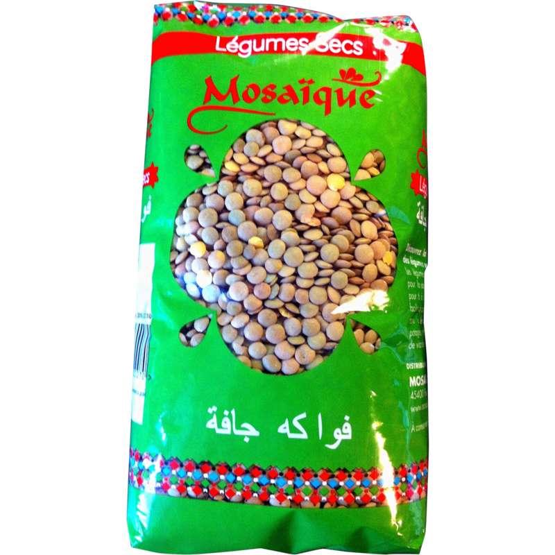 Lentilles blondes, Mosaïque (1 kg)