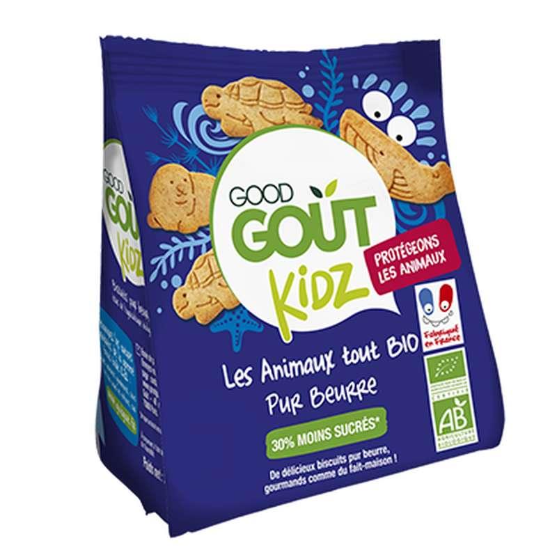 Les animaux pur beurre BIO - dès 3 ans, Good Goût Kid'z (120 g)