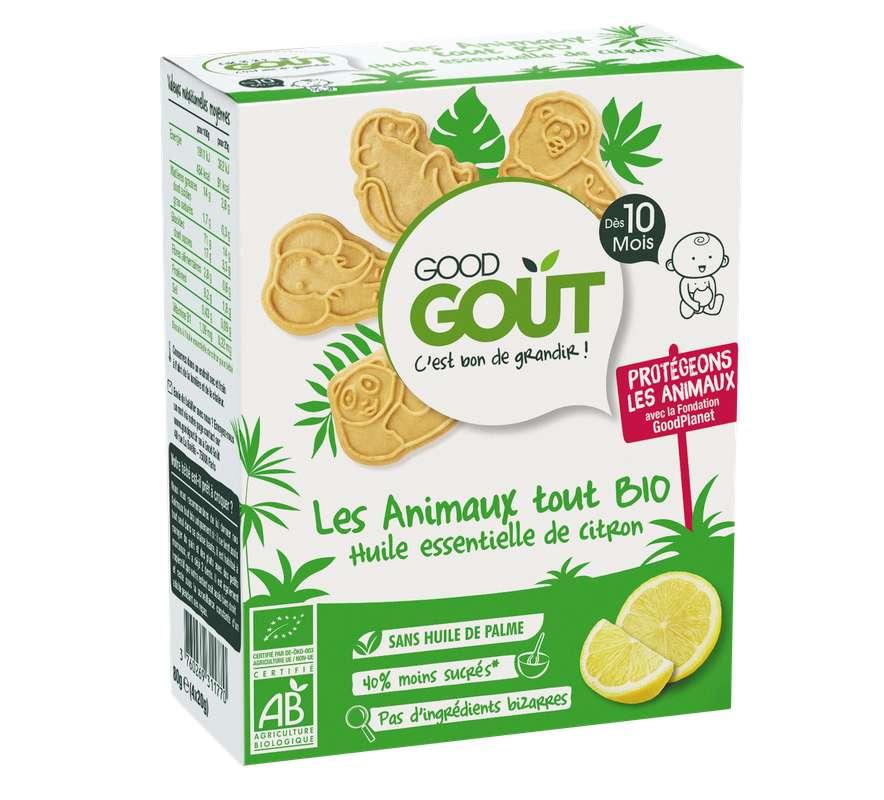 Les animaux au citron BIO - dès 10 mois, Good Goût (80 g)