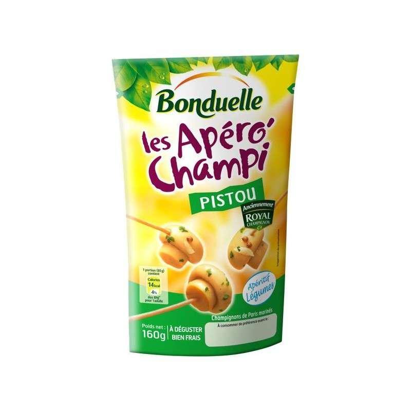 Les apéro champignon pistou, Bonduelle (160 g)