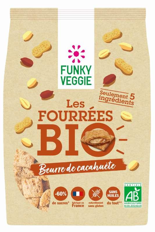 Les Fourrées - Beurre de cacahuète BIO, Funky Veggie (250 g)