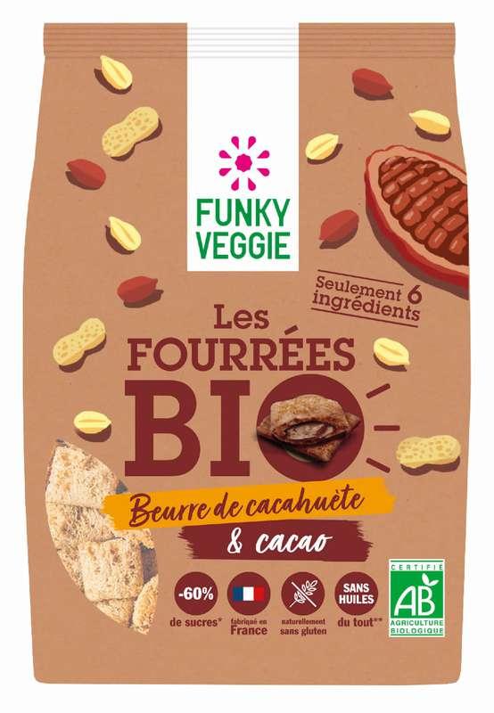 Les Fourrées - Beurre de cacahuète & Cacao BIO, Funky Veggie (250 g)