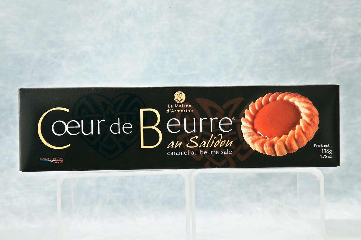 Les gâteaux Cœur de beurre, La Maison d'Armorine (136 g)