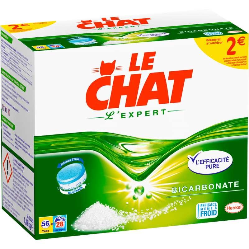 Lessive en tablette L'Expert, Le Chat (x 56 tablettes)