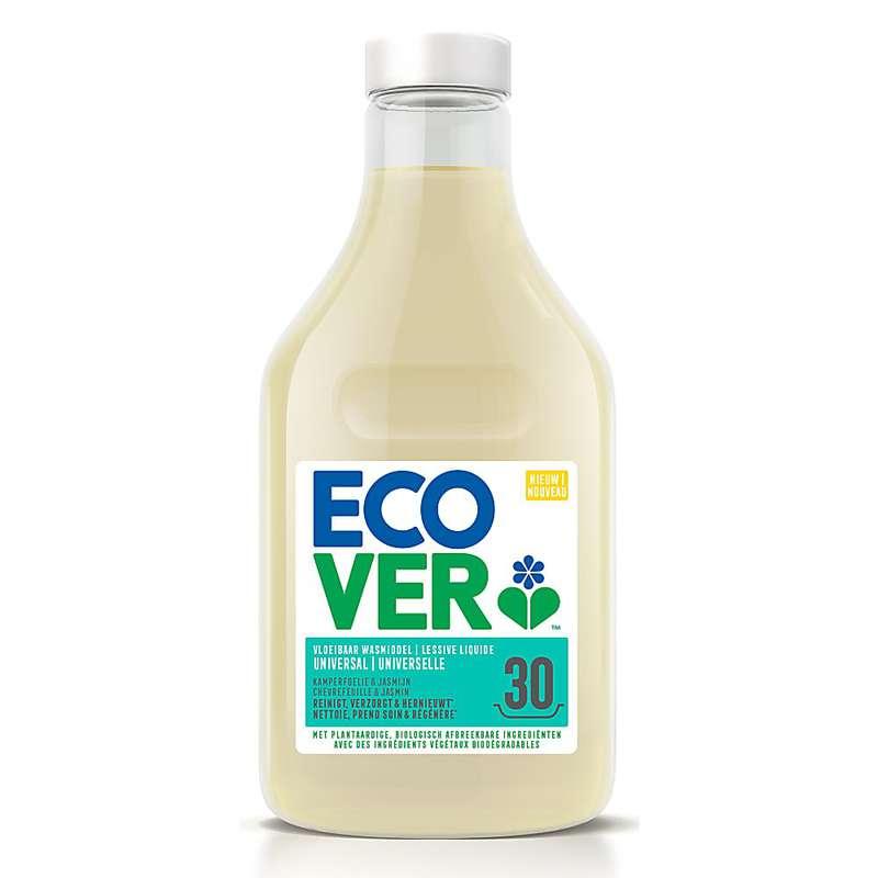 Lessive liquide universelle Chèvrefeuille et Jasmin, Ecover (1,5 L = 30 lavages)